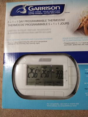 Programmable Thermostat. New for Sale in Auburndale, FL