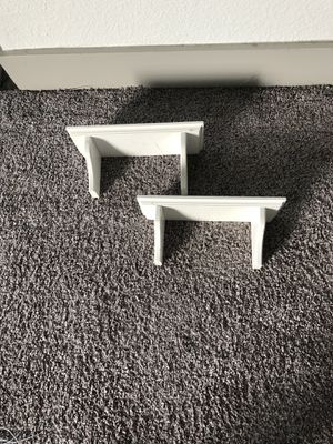 White shelves for Sale in Tacoma, WA