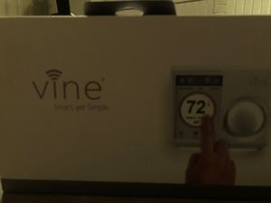 Vine TJ-610B-W Smart Wi-FinProgrammable Thermostat with Nightlight for Sale in Columbus, OH