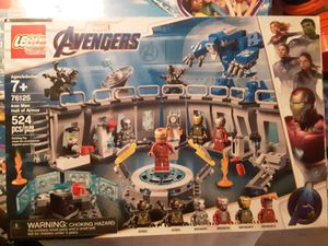 Lego Marvel Advengers Iron Man Hall Of Armor for Sale in Duvall, WA