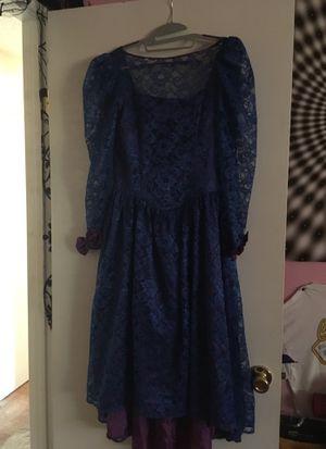 Blue and purple prom dress size: 14 for Sale in Renton, WA