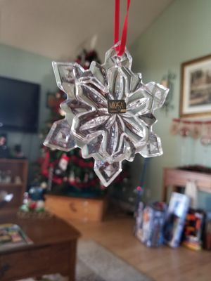 Crystal orniment snowflake for Sale in Fort Worth, TX