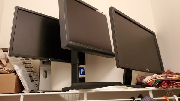 3 monitors for $100