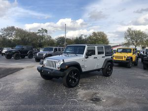 2012 Jeep Wrangler Unlimited Sport Auto NO FEES! for Sale in Riverview, FL