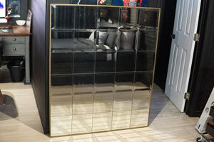 Gold trim window style mirror for Sale in South Gate, CA