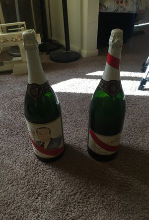 Pair of antique champagne bottles for decoration for Sale in Wilmington, DE