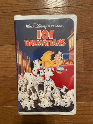 "101 Dalmatians ""Black Diamond"" Disney VHS Tape #1263 for Sale in Byrnes Mill, MO"