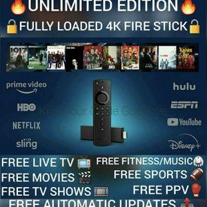 Jailbroken 4K Amazon Firestick With Alexa for Sale in South Brunswick Township, NJ
