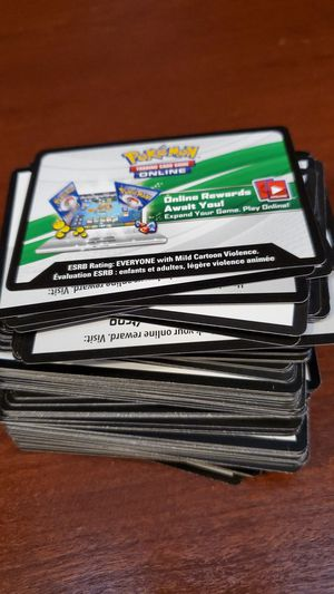 167 Pokemon TCGO code cards for Sale in Snohomish, WA