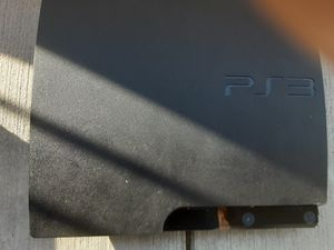 50 good condition ps3 Works good just console and power cord 50 for Sale in Tacoma, WA