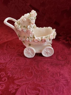 Acrylic baby carriage party favors for Sale in Riverside, CA