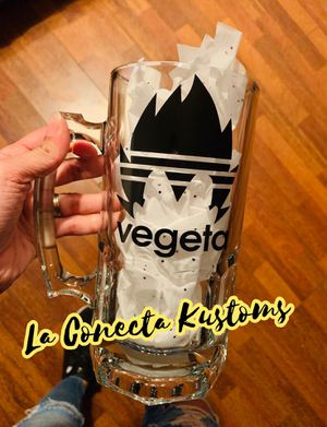 Dragon ball z Vegeta custom sports mug for Sale in Phoenix, AZ