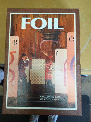 Foil Board game for Sale in Matawan, NJ