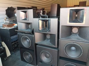Pro-Audio DJ, Church, Band Equipment Speakers, Amps & Lighting for Sale in Winter Garden, FL