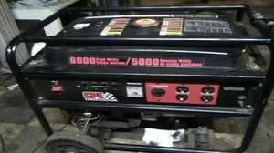 Champion power equipment 6000 watt generator for Sale in Houston, TX