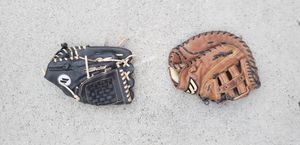 Softball or baseball gloves for Sale in La Habra, CA
