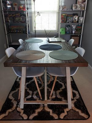 Dining table with 4 chairs for Sale in Raleigh, NC
