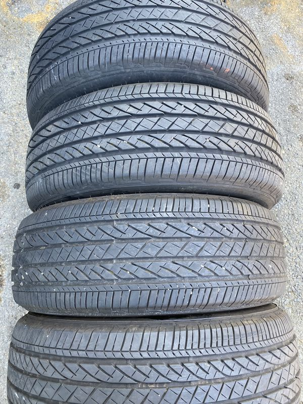 Set 4 usted tire 245/60R18 BRIDGESTONE TWO USED TIRE HAVE THREE PARCT SET 4 usted tire $220