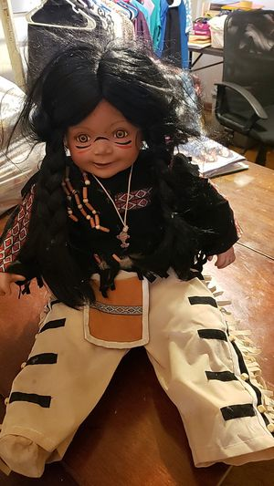 Native american doll for Sale in TIMBERCRK CYN, TX