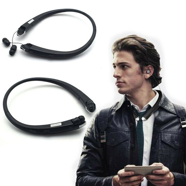 Bluetooth Headset Sport Stereo Wireless Headphone Earphone for iPhone Samsung Black (sportheadphone-black-USA)