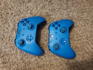 Xbox one controller xbox one blue controller for Sale in Plainview, NY
