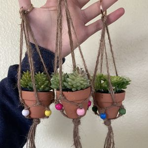 Hanging Plant Fake Succulents 🌱 for Sale in Rancho Cucamonga, CA