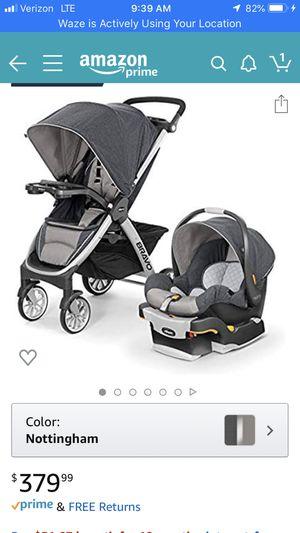 Chicco Bravo Trio System Stroller Infant Car Seat NEW for Sale in Newport News, VA