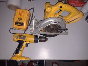 Dewalt power tools for Sale in Fort Belvoir, VA