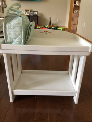 Pleasant View Company Bitty Baby Changing Table and Diaper Bag for Sale in Southington, CT