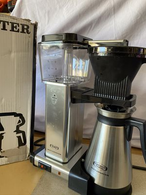 Technivorm moccamaster thermal coffee maker stainless steel new excellent condition made in Netherlands for Sale in Las Vegas, NV
