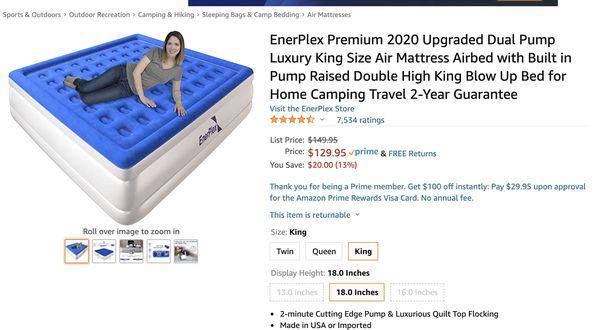 air mattress bed