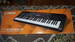 New in Box Yamaha PSR-E263 61-key Digitapl Keyboard for Sale in Queens, NY