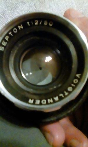 Voigtlander Septon 1:2/50 camera lens for Sale in Seattle, WA