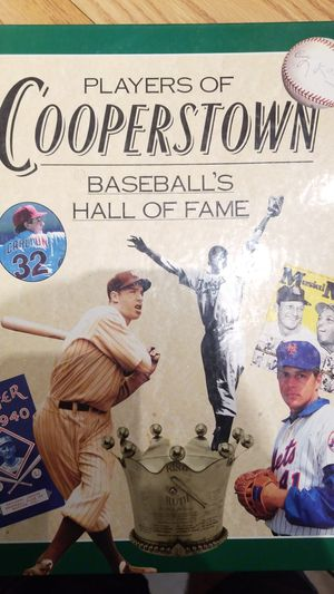 Players of cooperstown hardcover book for Sale in Northfield, OH