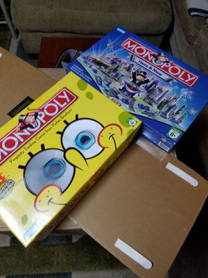 Monopoly games for Sale in Madison Heights, VA