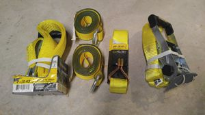 Vehicle traps, towing straps, hooks for Sale in Galloway, OH