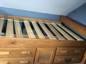 Pine Wood Bed Frame for Sale in Arlington,  MA