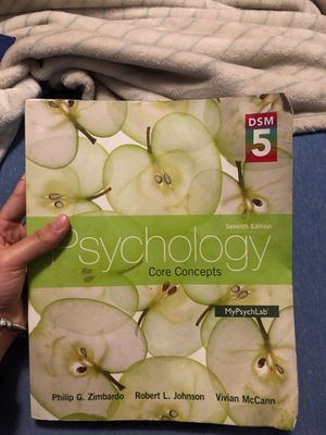 Psychology Core Concepts by Philip G. Zimbardo and more. for Sale in Miami, FL