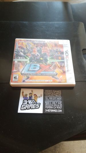 LbX for 3ds for Sale in Pomona, CA