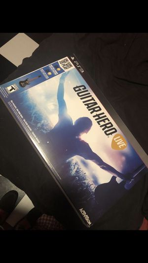Guitar Hero Live PS3 for Sale in Fort McDowell, AZ