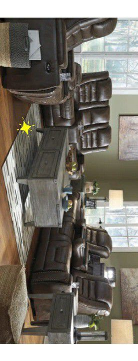 ♧SAME DAY delivery ♧[SPECIAL] Game Zone Bark Power Reclining Living Room Set with Adjustable Headrest for Sale in Houston, TX