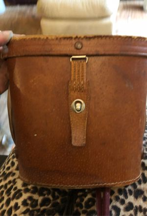 Old camera lens or binocular case leather for Sale in Saint James, MO