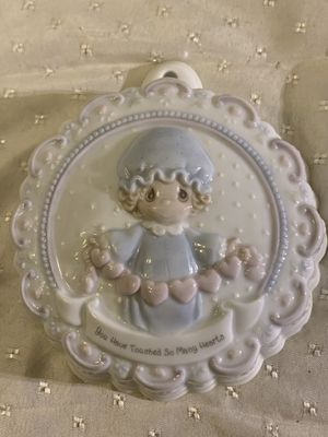 Enesco Precious Moments 1994 Wall Hanging Plaque You Have Touched So Many Hearts for Sale in Dallas, GA