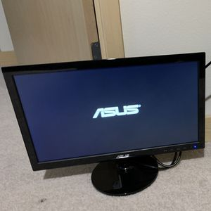 Asus VS197D-P Monitor w/ HDMI adapter for Sale in Seattle, WA
