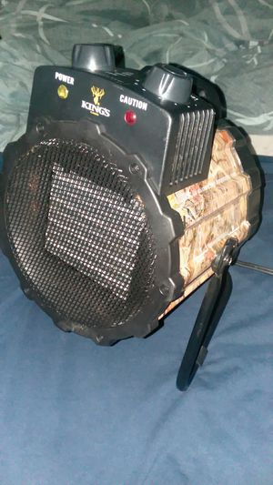 Portable kings camo heater. for Sale in East Dublin, GA