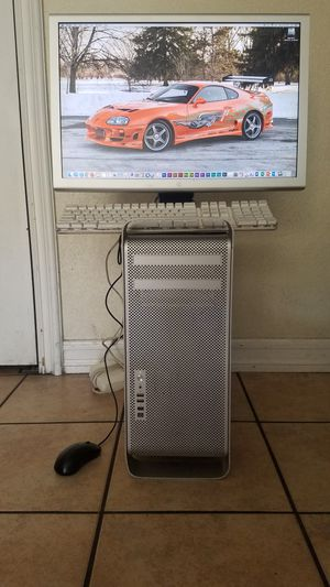 Mac Pro & 23in apple Cinema display HD for Sale in Fountain Valley, CA