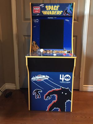 1 Up Arcade Pac-Man Space Invaders & Galaga Arcade Cabinet for Sale in Etiwanda, CA