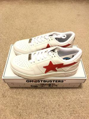 Ghostbusters x Bape BapeSta (White) Size 10 for Sale in Irvine, CA