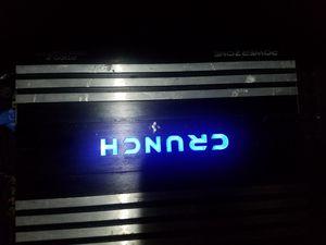 crump amp 1100 watts for Sale in Chicago, IL