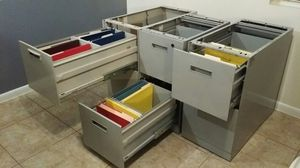 Steelcase file cabinets two-drawer, heavy duty for Sale in Delray Beach, FL